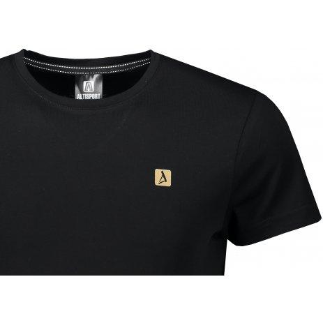 Pánské premium triko ALTISPORT ALM065153 ČERNOZLATÁ
