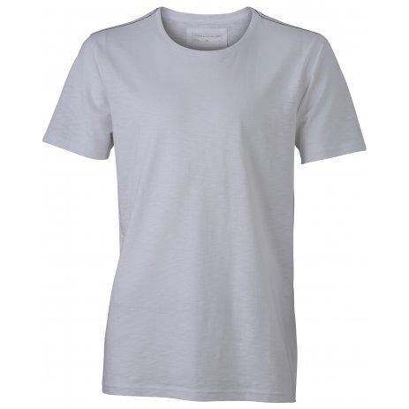 Pánské triko JAMES NICHOLSON JN978 WHITE