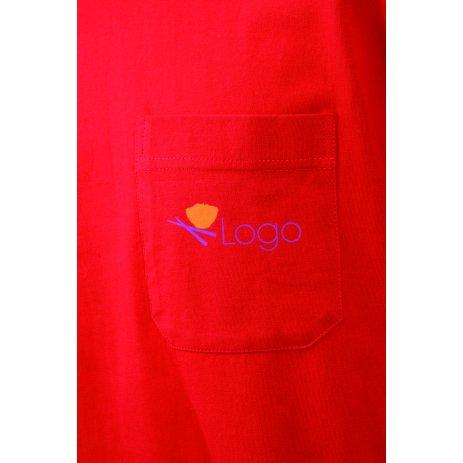 Pánské triko JAMES NICHOLSON JN920 RED