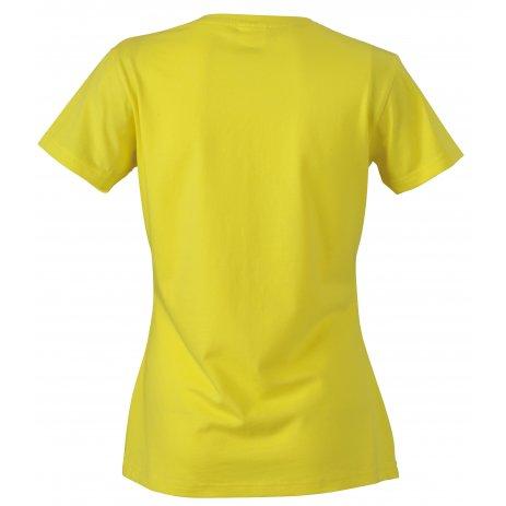 Dámské triko JAMES NICHOLSON JN971 YELLOW