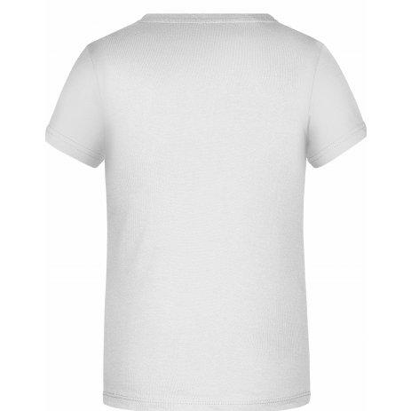 Chlapecké triko JAMES NICHOLSON JN745 WHITE