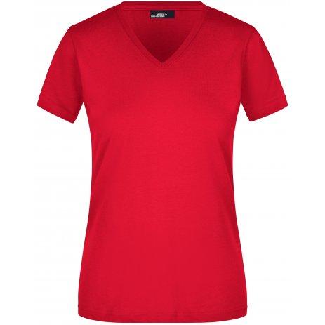 Dámské triko JAMES NICHOLSON JN972 RED