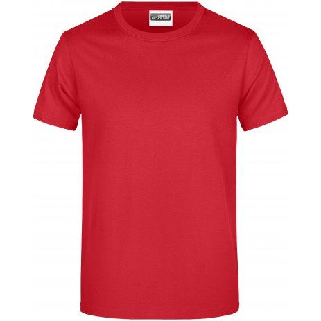 Pánské triko JAMES NICHOLSON JN790 RED