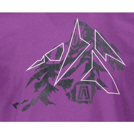 Pánské triko ALTISPORT ALM115129 FIALOVÁ