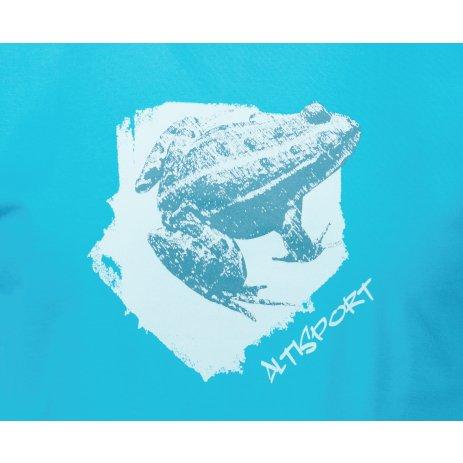 Pánské triko ALTISPORT ALM117129 TYRKYSOVÁ