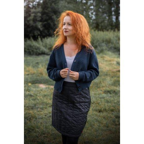 Dámská sukně ALTISPORT EGLJA LSKU365 ČERNÁ