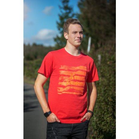 Pánské triko ALTISPORT LOAHOV MTSU707 ORANŽOVÁ
