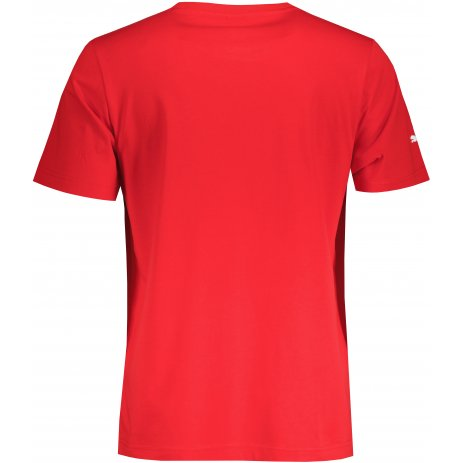 Pánské triko PUMA FERRARI RACE COLORED BIG SHIELD TEE 531691-02 ČERVENÁ