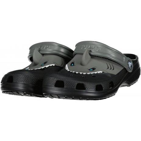 Dětské pantofle CROCS CLASSIC IAM SHARK CLOG K 207072-001 BLACK