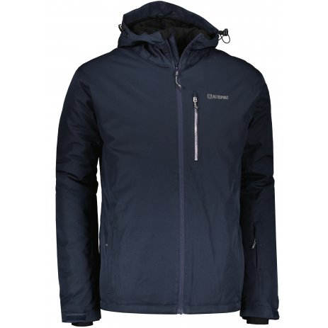 Pánská lyžařská bunda ALTISPORT VUNEL MJCU526 TMAVĚ MODRÁ