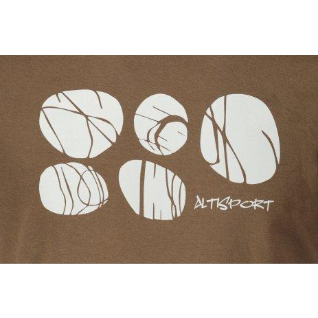 Pánské triko ALTISPORT ALM122129 ARMY