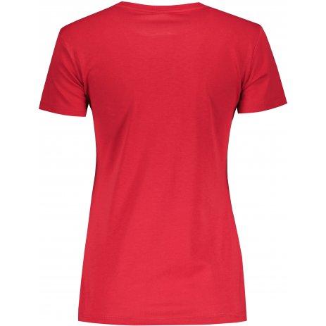 Dámské triko PUMA ESS LOGO TEE 586775-33 ČERVENÁ