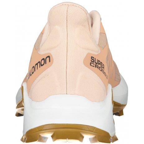 Dámské boty SALOMON SUPERCROSS 3 W L41453300 RŮŽOVÁ/BÍLÁ/HNĚDÁ