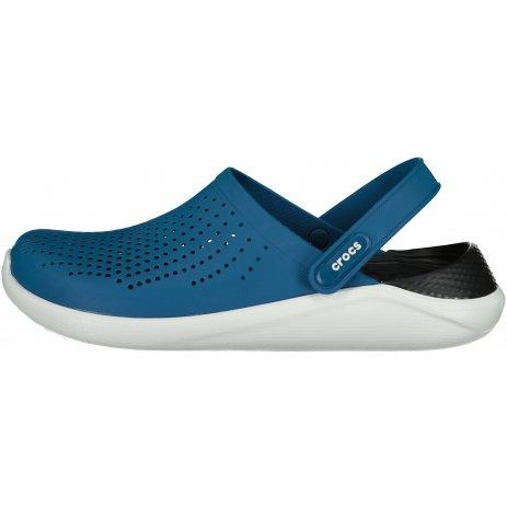 Pánské pantofle CROCS LITERIDE CLOG 204592-4SB VIVID BLUE/ALMOST WHITE