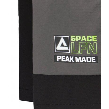 Pánské kraťasy PEAK WOVEN SHORTS FW312005 BLACK/GREY