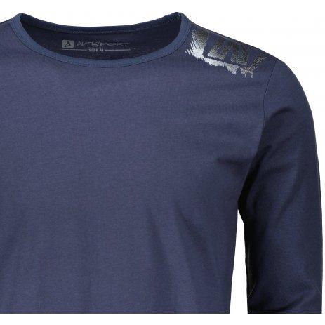 Pánské triko ALTISPORT LOMEW MTSU705 TMAVĚ MODRÁ