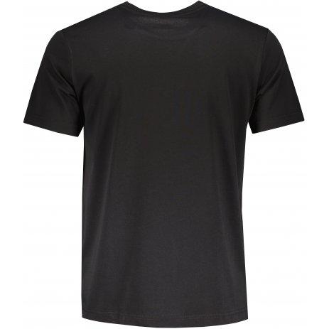 Pánské triko PEAK ROUND NECK T SHIRT FW612363 BLACK