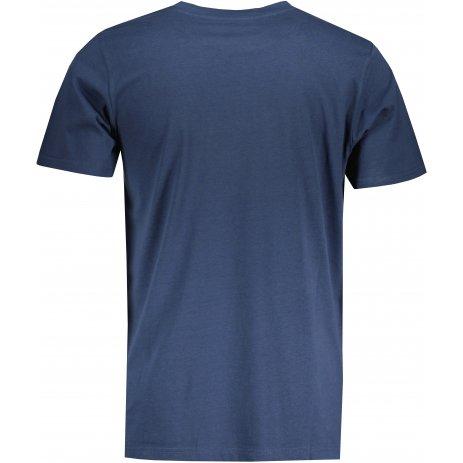 Pánské triko ALPINE PRO LESAW MTSU700 TMAVĚ MODRÁ