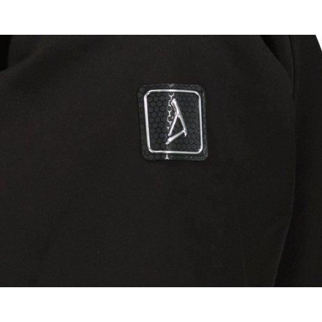 Pánská softshellová bunda ALTISPORT FEDER MJCU528 ČERNÁ