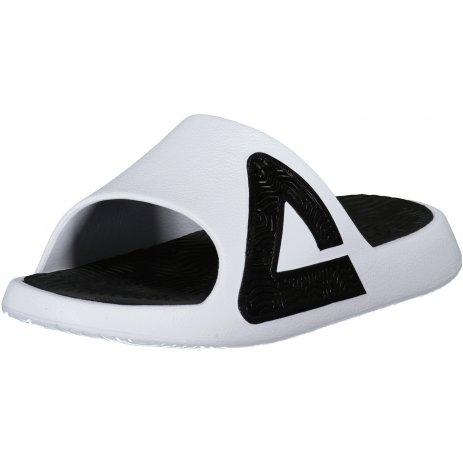 Dámské pantofle PEAK SLIPPER E92037x WHITE/BLACK