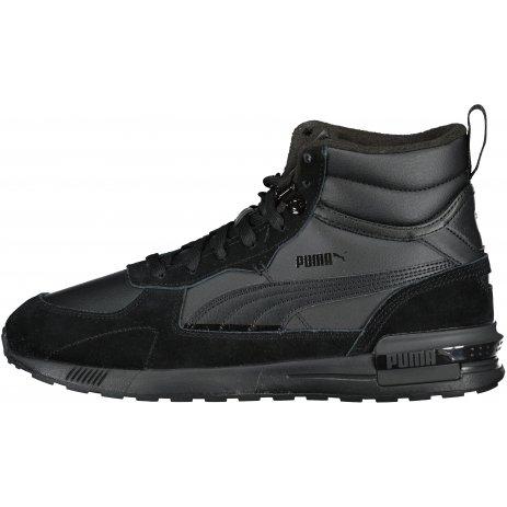 Pánské boty PUMA GRAVITON MID 383204-01 ČERNÁ