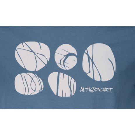 Pánské triko ALTISPORT ALM122129 DENIM