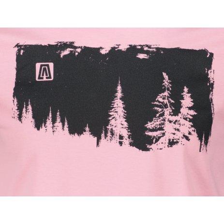 Pánské triko ALTISPORT ALM111129 SVĚTLE RŮŽOVÁ