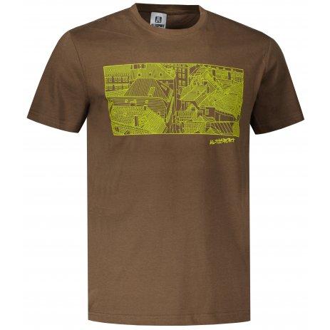 Pánské triko ALTISPORT ALM120129 ARMY