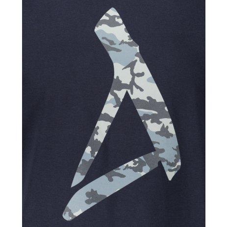 Pánské triko ALTISPORT ALM121129 NÁMOŘNÍ MODRÁ