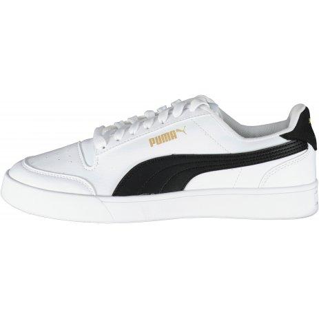Dámské boty PUMA SHUFFLE JR 375688-02 BÍLÁ