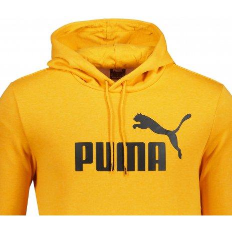 Pánská mikina PUMA ESS HEATHER HOODIE FL 586739-37 ŽLUTÁ