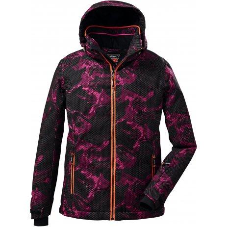 Dívčí lyžařská bunda KILLTEC KSW 73 GRLS SKI JCKT 37254 ORCHID