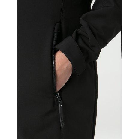 Dámský softshellový kabát LOAP LECIKA ČERNÁ