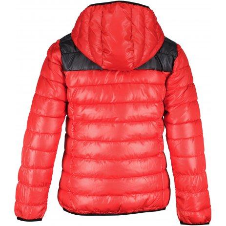 Chlapecká zimní bunda SAM 73  KARL BB 533 JASNÁ ČERVENÁ