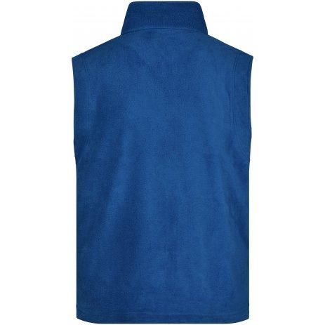 Pánská heavyfleece vesta JAMES NICHOLSON JN045 ROYAL