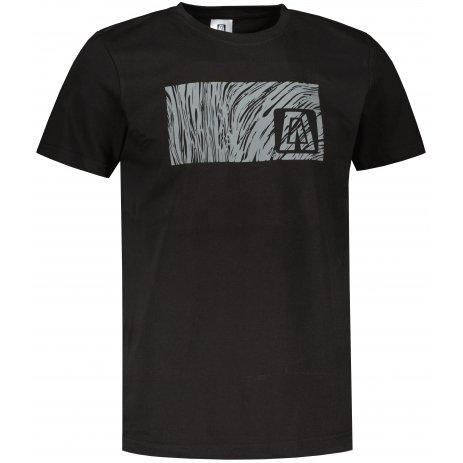 Pánské triko ALTISPORT ALM126129 ČERNÁ