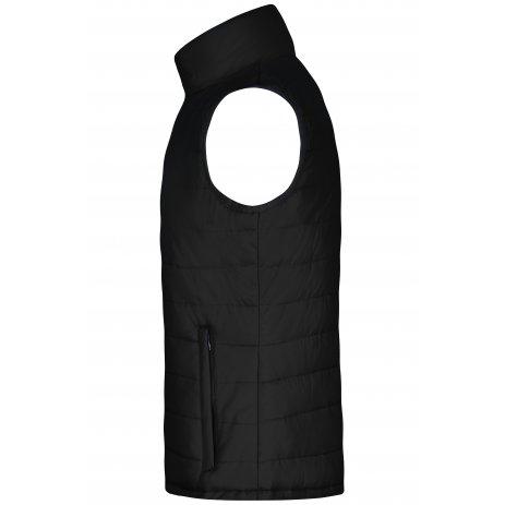 Pánská  vesta JAMES NICHOLSON JN1136 BLACK