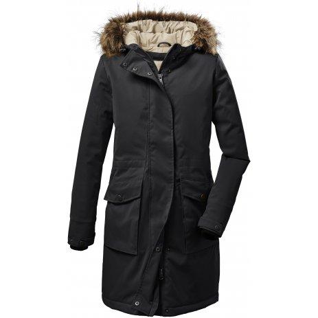 Dámský kabát KILLTEC GW 24 WMN PRK 37514 ČERNÁ