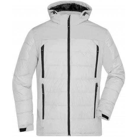 Pánská zimní bunda JAMES NICHOLSON JN1050 WHITE