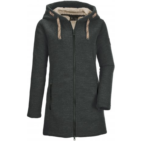 Dámský kabát KILLTEC GW 54 WMN KNTFLC PRK 37640 TMAVĚ ZELENÁ