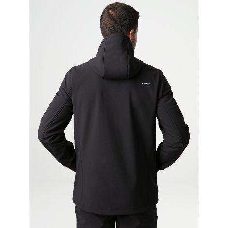 Pánská softshellová bunda LOAP LECAR ČERNÁ