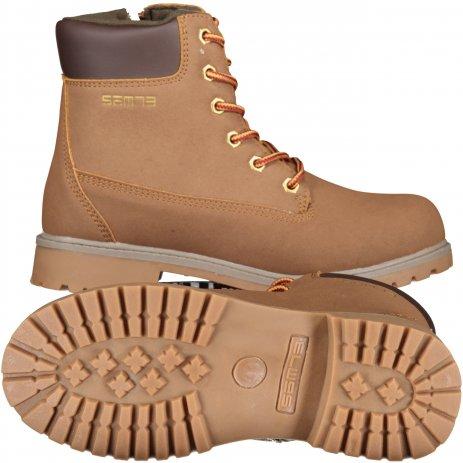 Dětské boty SAM 73  SHANE KF 05 HNĚDÁ