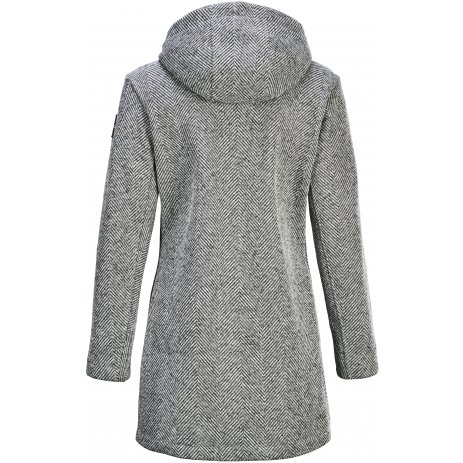 Dámský kabát KILLTEC GW 51 WMN KNTFLC PRK 37637 SVĚTLE ŠEDÁ