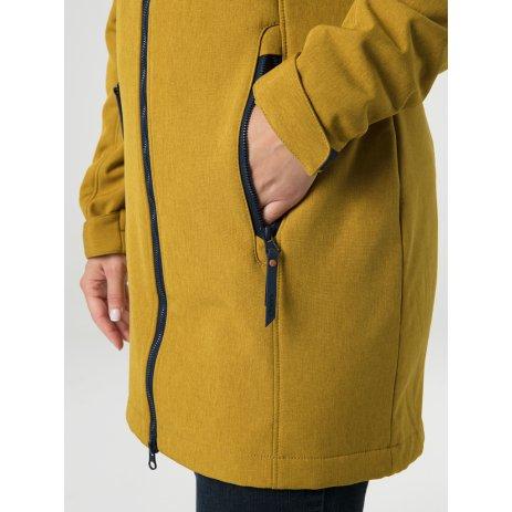 Dámský softshellový kabát LOAP LECIKA ŽLUTÁ