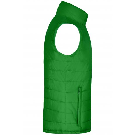 Pánská  vesta JAMES NICHOLSON JN1136 GREEN