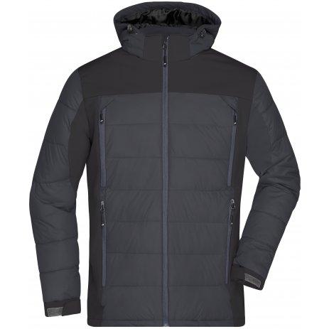 Pánská zimní bunda JAMES NICHOLSON JN1050 BLACK