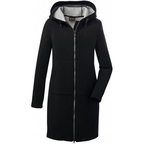 Dámský kabát KILLTEC GW 93 WMN PRK 37782 ČERNÁ