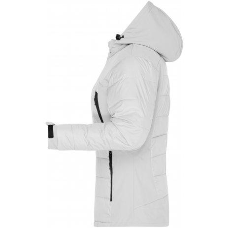 Dámská zimní bunda JAMES NICHOLSON JN1049 WHITE
