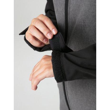 Dámská softshellová bunda LOAP LECNA ŠEDÁ/ČERNÁ