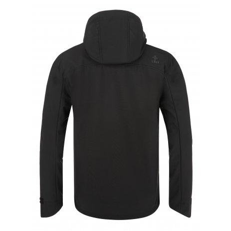 Pánská softshellová bunda KILPI RAVIO-M QM0002KI ČERNÁ